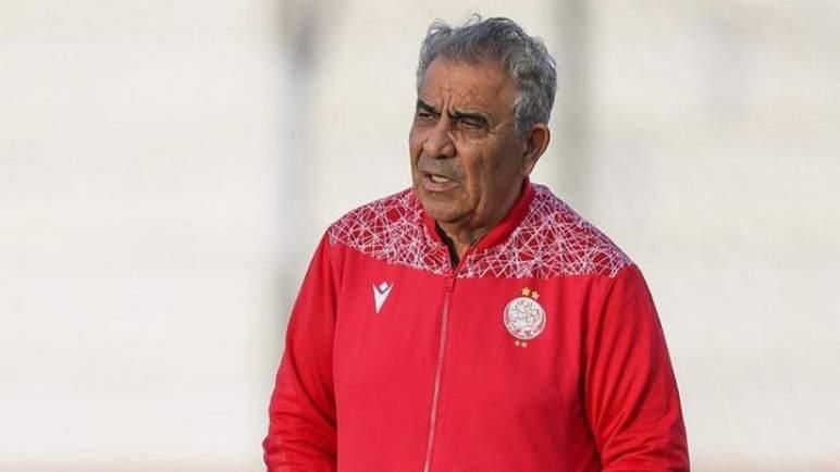 المدرب التونسي البنزرتي يعلن رحيله عن الوداد