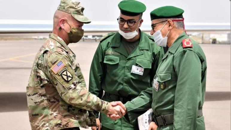 """القائد العام للجيش الأمريكي بأوروبا وأفريقيا يصل المغرب للمشاركة في مناورات """"الأسد الإفريقي 2021"""""""