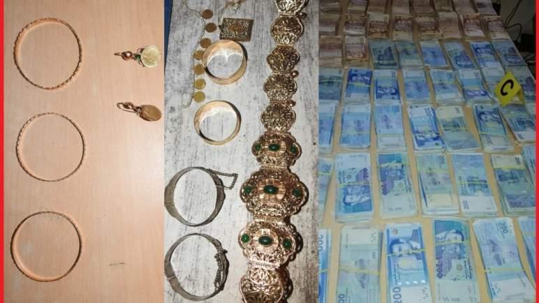 سرقة مجوهرات تقدر بالملايين ومبلغ مهم من داخل منزل بانزكان