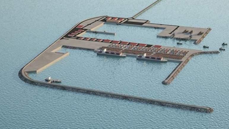 رسو صفقة إنشاء ميناء الداخلة الأطلسي على تجمع SGTM-Somagec Sud