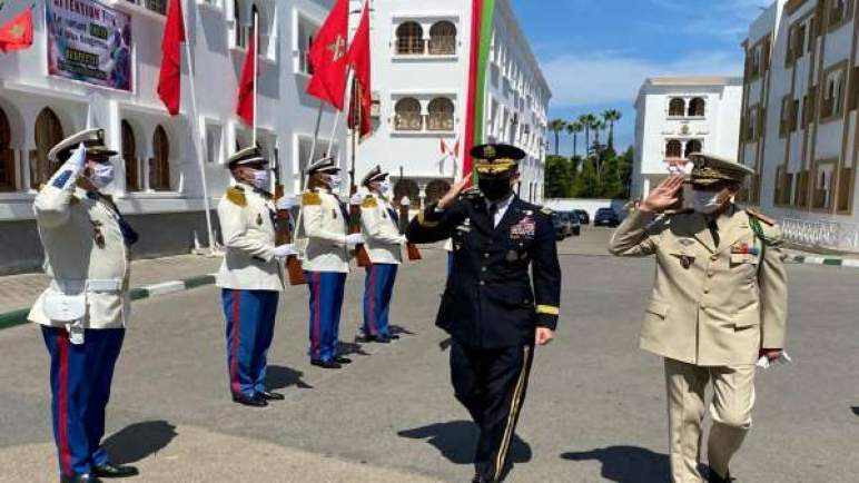 رئيس أركان القوات المسلحة الأمريكية في المغرب