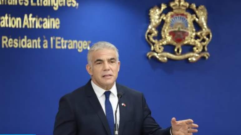 """الخارجية الإسرائيلية: تصريح يائير لابيد بشأن تعاون الجزائر مع إيران """"يتضمن معلومات مضبوطة"""""""
