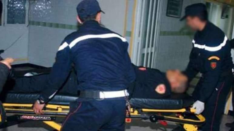 """""""عنف الإلترات"""". إصابة شرطي وتخريب سيارة للأمن في مواجهات بسلا"""