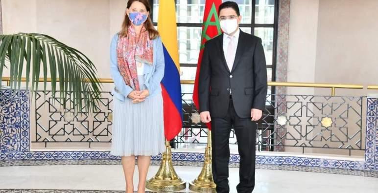كولومبيا تمدد نطاق الإشراف القنصلي لسفارتها في المملكة على كامل التراب المغربي، بما في ذلك الصحراء