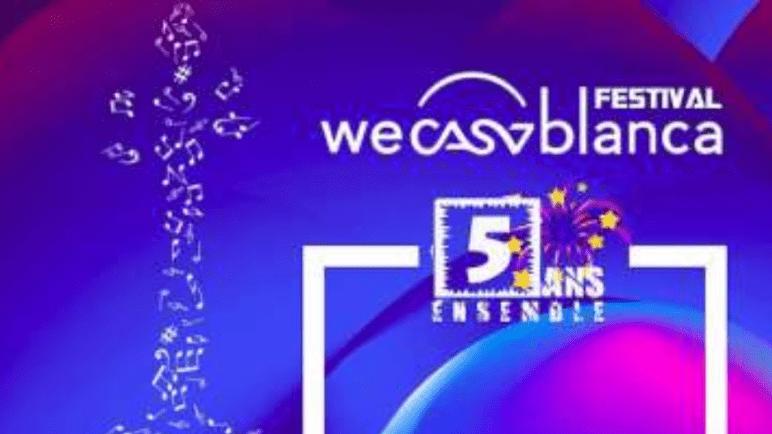 """عودة مهرجان """"WeCasablanca"""" في حلة جديدة ببرنامج فني غني ومتنوع"""