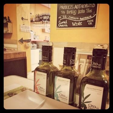 Madrid Tapas Trip Olive Oils - acheckedbag.wordpress.com