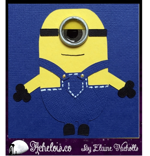 Minions birthday card2