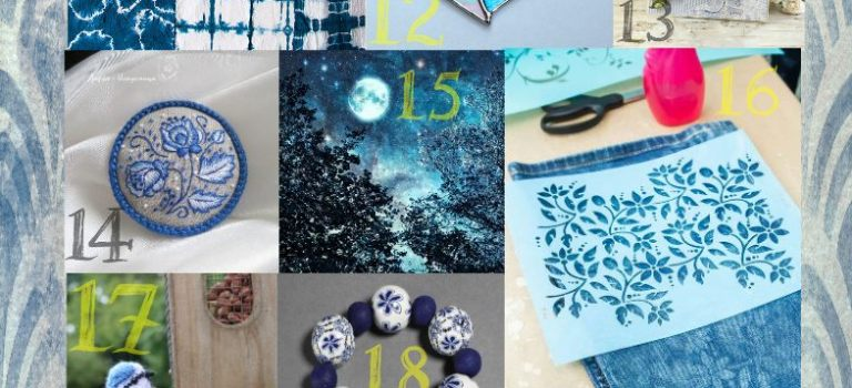 Feeling Blue- the Creative Loops Challenge for September