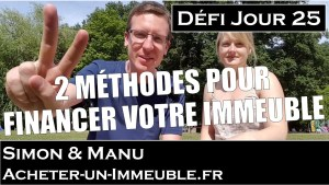 comment financer un immeuble