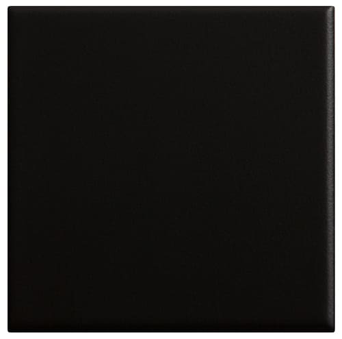 carrelage sol 10 x 10 lisse mat couleur noir