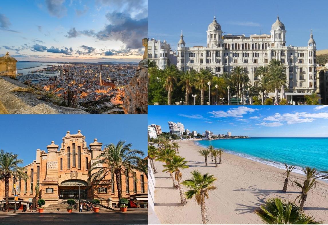 Alicante Espagne - Voyages - Cartes
