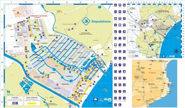 Empuriabrava plan acheter en Espagne immobilier
