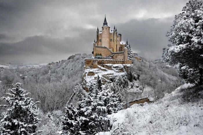 Alcazar Ségovie Noel acheter immobilier Espagne 20 Alcazar