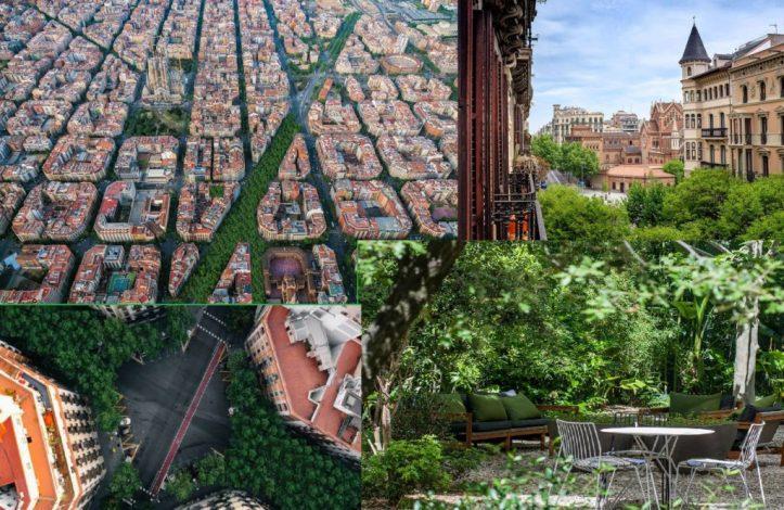Eixample ecologie Barcelone 34 acheter immobilier en Espagne