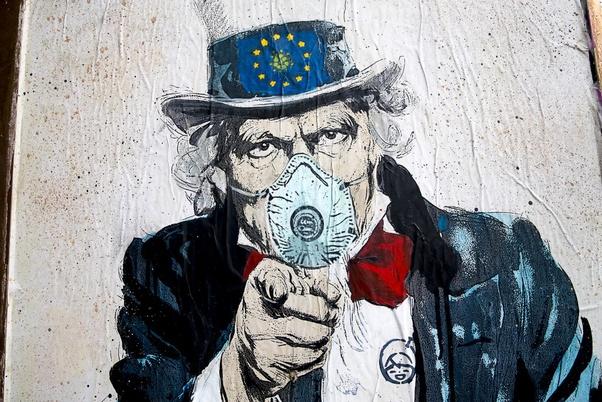 Street Art Covid et Immobilier Coronavirus acheter en Espagne 011