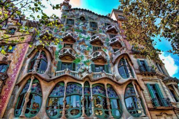 Casa Batlló Gaudi Barcelone acheter immobilier en Espagne