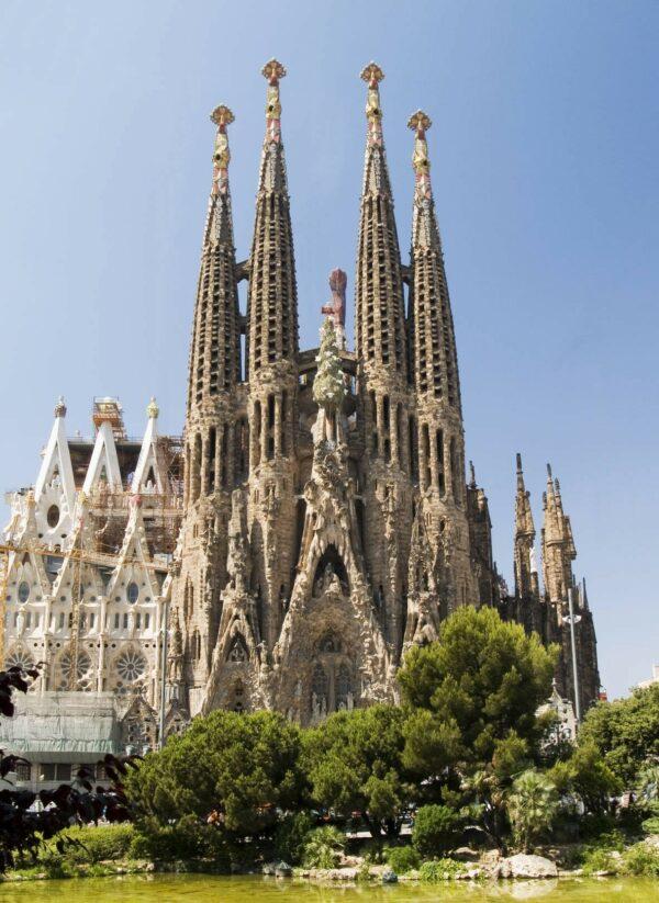 Sagrada Familia Barcelone Gaudi acheter immobilier en Espagne