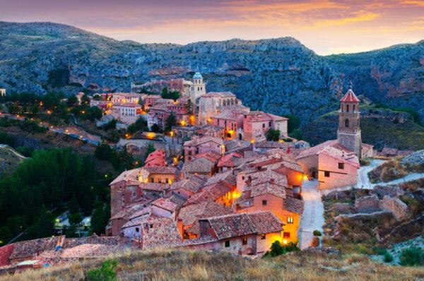 villages-espagne-albarraccin-teruel acheter immobilier en Espagne