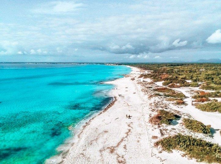 Plage Es Trenc Majorque plages acheter immobiliere en Espagne