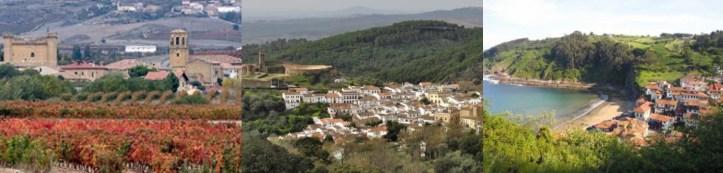 Pueblos mas bonitos de Espagne - plus beaux villages d'Espagne