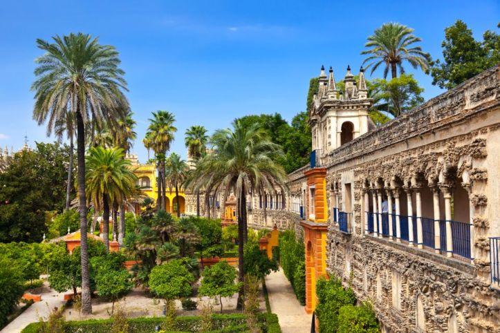 Alcazar de Séville Andalousie architecture acheter immobilier en Espagne 1