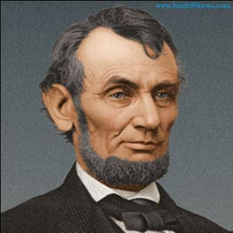 abrahm lincoln.