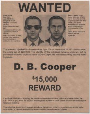 D. B Cooper