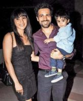 Emraan Hashmi With Family