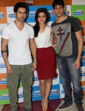 Alia Bhatt, Varun Dhawan & Sidharth Malhotra