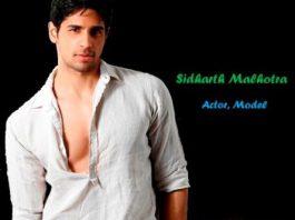 Sidharth Malhotra Biography In Hindi