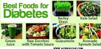 Diet Chart For Diabetic Patient In Hindi - मधुमेह रोगियो का आहार कैसा हो पूरी जानकारी