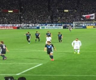 サッカー日本代表2−1でサウジアラビア勝利!出場権の2位に浮上