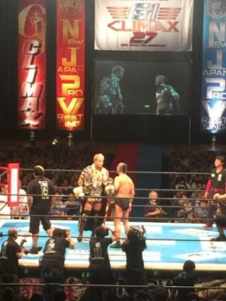 【生観戦】NJPW G1 CLIMAX 27 横浜文化体育館 生観戦に大興奮もメインはドローかぁ。Bブロックはオカダ、ケニー絞られたか?!