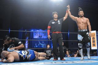 NJPW G1 CLIMAX 27 岐阜産業会館 ついに覚醒か!?SANADAがエルガンを月面空爆葬!