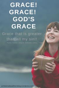 GRACE GRACE GOD'S GRACE