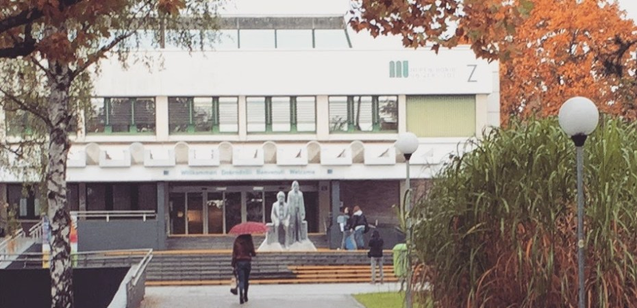Entrance to the University of Klagenfurt