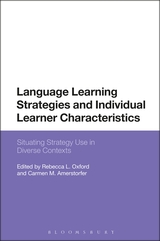 Front Cover of Language Learning Strategies and Individual Characteristics