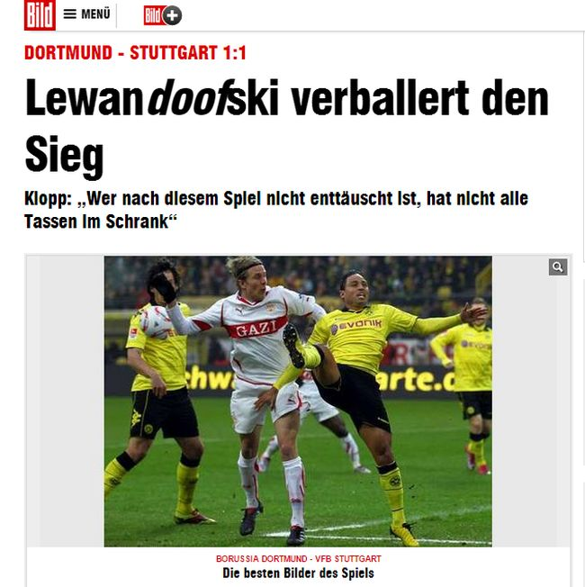Robert Lewandowski Bild