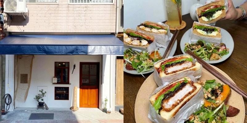 [台北美食] 熊記Bear's Casa - 在可愛的小店賣著超美超厚的三明治