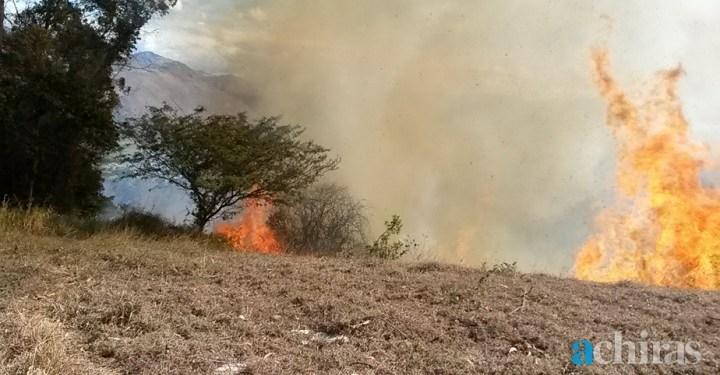 Incendio Cochaloma