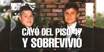 Edgar Moreno (izquierda) falleció por la caída en la que Alcides inexplicablemente sobrevivió en 2007. FOTO: BBC
