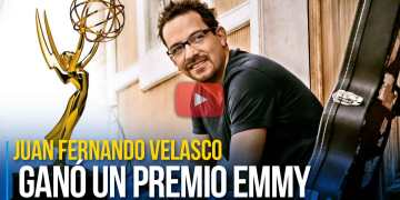 Juan Fernando Velasco ganó un premio Emmy