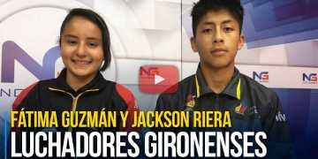 Luchadores gironenses representaron a la provincia a nivel nacional