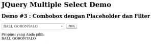 Contoh Demo 3: Multiple-Select dengan Isi Data dari MySQL