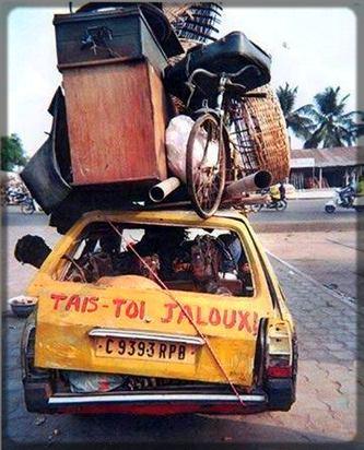 Certains chauffeurs ne connaissent pas la limite de la surcharge.