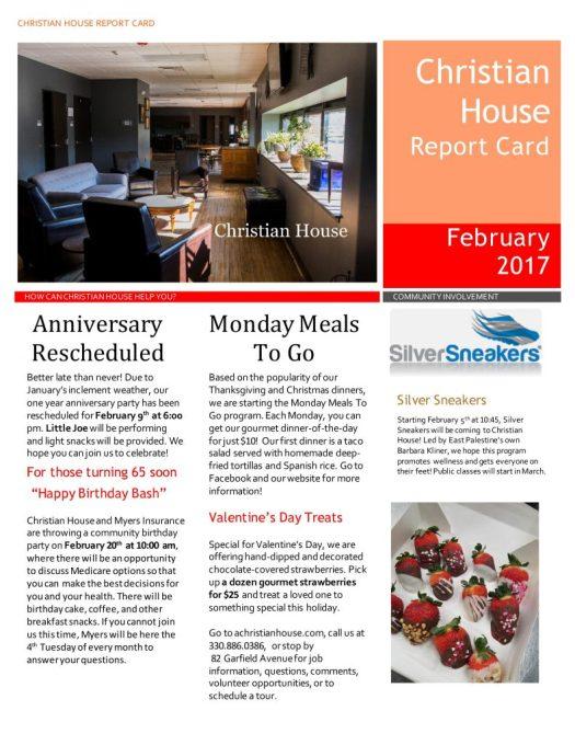 February Report Card