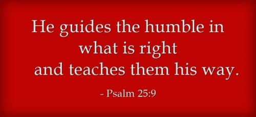 Humility and God