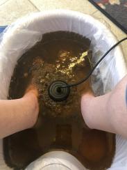 ionic foot detox bath by Jennifer Archie