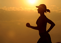 woman-running-sunset