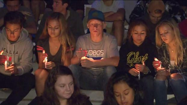 Friends, family members and classmates gathered at Cam High to remember former student Daniel Morales on Sept. 1, 2015.